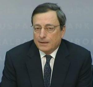 Mario Draghi puhui korot alas ja osakkeet ylös. Investoinnit pysyvät silti jäässä.